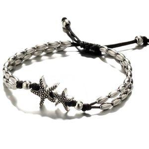 Starfish bohemian ankle bracelet